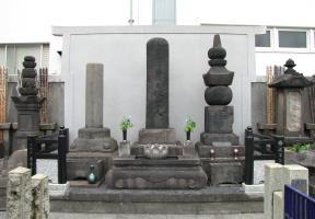 開山開基の墓
