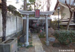 日吉稲荷神社鳥居