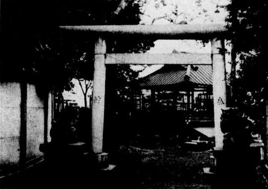 駒込日枝神社古写真