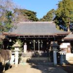 城山氷川神社拝殿