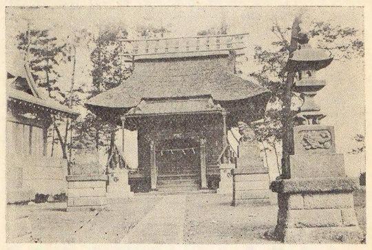 太田神社古写真
