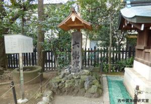 六郷神社旧六郷橋の親柱