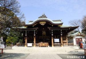 六郷神社拝殿