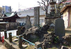 富士浅間大神碑