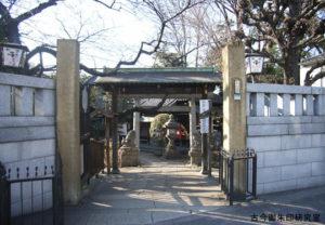 大国神社境内入口(平成18年)