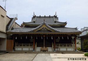 扶桑教太祠拝殿
