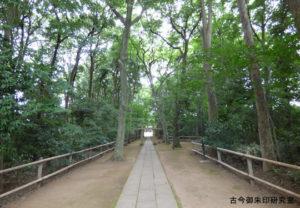 喜多見氷川神社参道