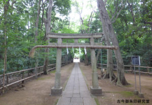 喜多見氷川神社二の鳥居