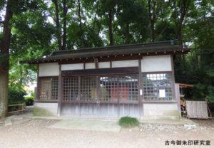 喜多見氷川神社神輿庫