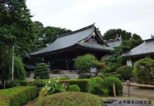喜多見氷川神社社殿