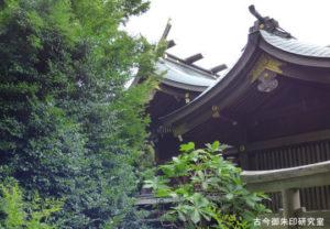 喜多見氷川神社本殿