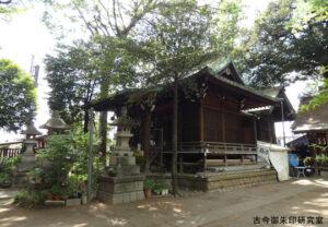 大原稲荷神社社殿
