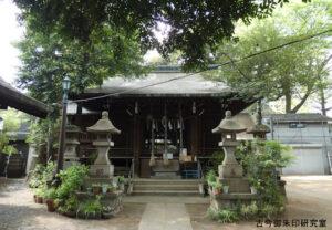 大原稲荷神社拝殿