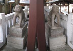 狛犬型庚申塔