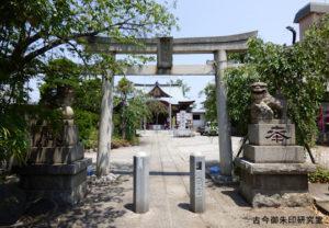 上千葉香取神社二の鳥居