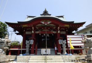 上千葉香取神社拝殿