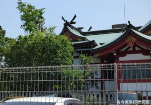 上千葉香取神社本殿