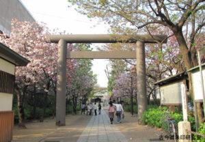 亀戸香取神社鳥居