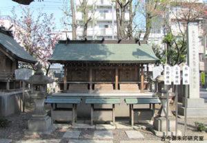 亀戸香取神社熊野神社・三峯神社・水神社