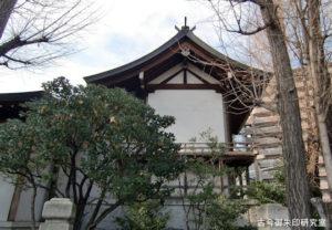 亀戸香取神社本殿
