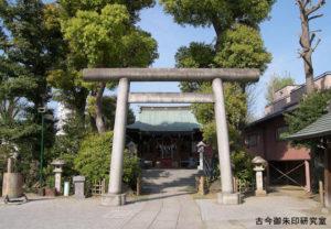 小村井香取神社二の鳥居