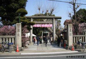 小村井香取神社一の鳥居