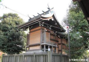 小村井香取神社本殿