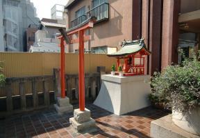 石稲荷髪稲荷神社