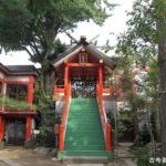 於玉稲荷神社拝殿