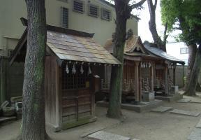 八幡神社・白髭神社
