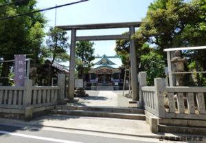 平井諏訪神社鳥居