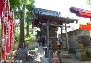 平井諏訪神社稲荷神社(旧本殿)