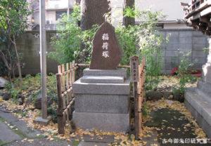 平井諏訪神社稲荷塚