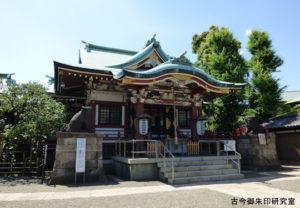 平井諏訪神社拝殿