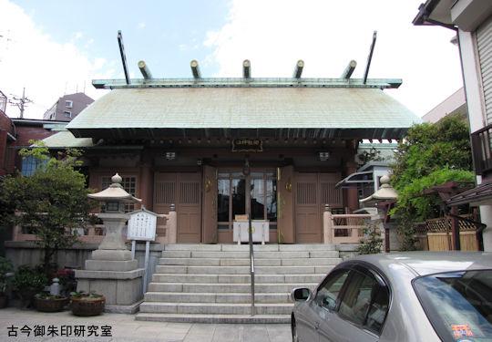 堀切天祖神社拝殿
