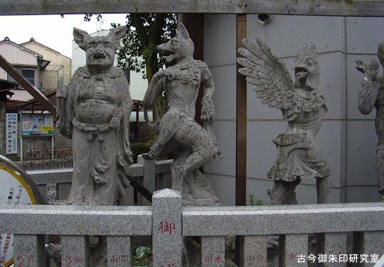 堀切天祖神社十二支神