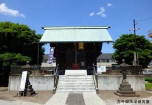 西小松川天祖神社拝殿