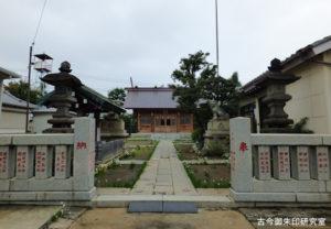 高砂天祖神社境内
