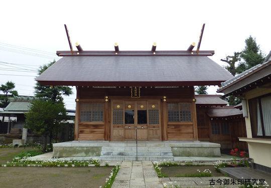 高砂天祖神社拝殿