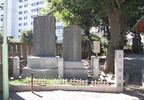 砂村新左衛門顕彰碑