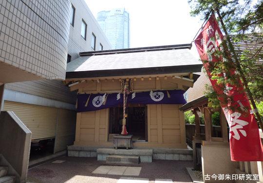 朝日神社拝殿