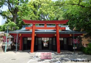 赤坂日枝神社末社拝殿