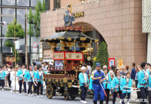 赤坂日枝神社美少年の山車