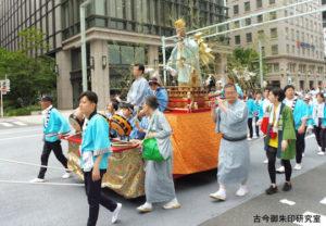 赤坂日枝神社御幣猿の山車