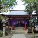 日枝神社日本橋摂社拝殿