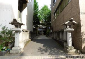 日枝神社日本橋摂社参道