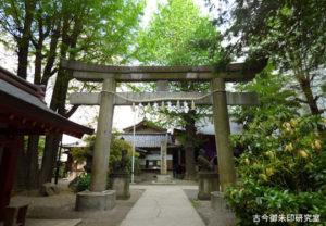 日枝神社日本橋摂社鳥居