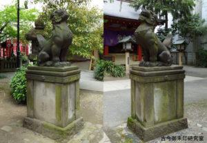 日枝神社日本橋摂社狛犬