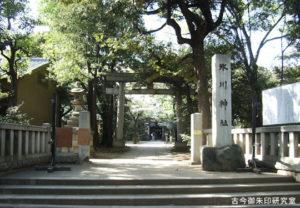 赤坂氷川神社一の鳥居