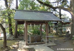 赤坂氷川神社手水舎